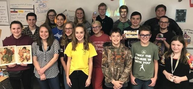 2018-2019 Student council representatives